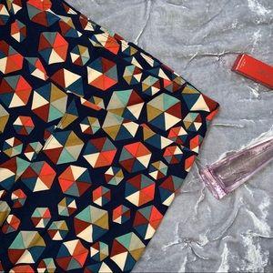LulaRoe Tall and Curvy Geometric Print Leggings